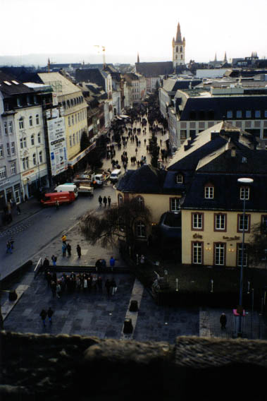 Street view of Trier